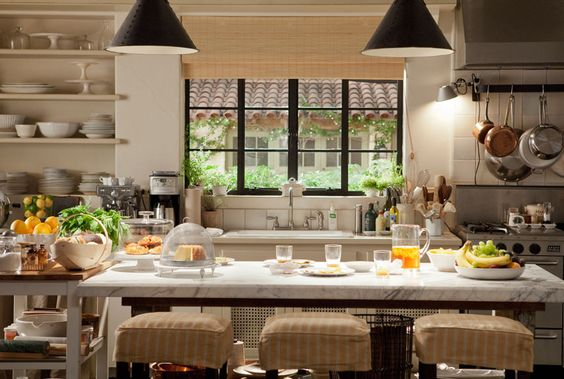 """kitchen from """"it's complicated"""".   House Beautiful"""