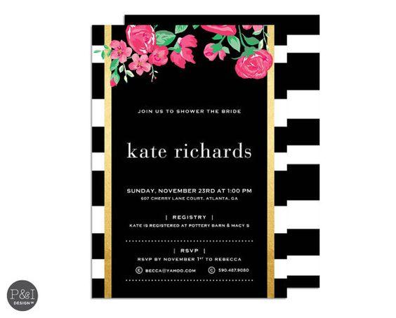 Customized Wedding Invitations with adorable invitation sample