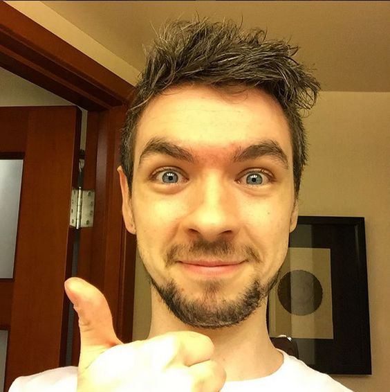 Sean McLoughlin, more commonly known as Jacksepticeye. I've only just truly realised the entertainment of youtube gamers, and I just love Sean's energetic persona.