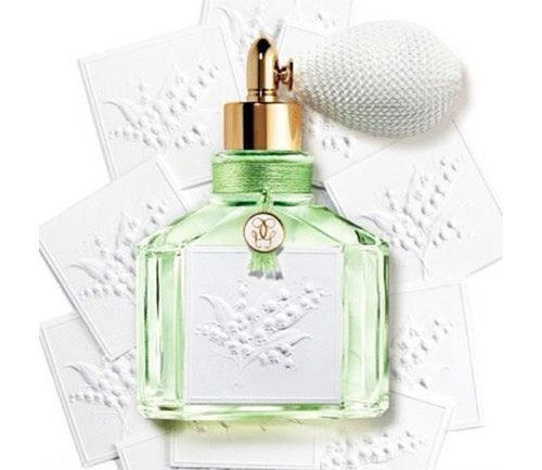 Green Grace with Lily of the Valley: New Guerlain Muguet Perfume Edition ~ New Fragrances