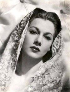 "Maria Montez (June 6, 1912 – September 7, 1951) was a Dominican-born motion picture actress who gained fame and popularity in the 1940s as an exotic beauty starring in a series of filmed-in-Technicolor costume adventure films. Her screen image was that of a hot-blooded Latin seductress, dressed in fanciful costumes and sparkling jewels. She became known as ""The Queen of Technicolor.""  Montez appeared in 26 films, 21 of which were made in North America and five in Europe"
