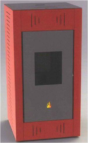 Catálogo de estufas de pellets Theca - Modelos Basic