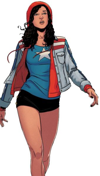 America Chavez is literal perfection. Love Young Avengers <--- yessss!  And she's one of my favorite superheroes, too!!! ;):