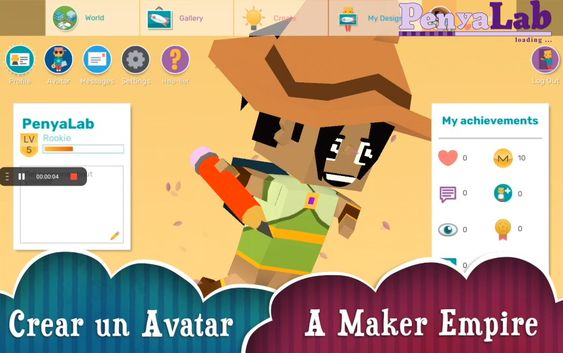 Makers Empire – Crear un avatar