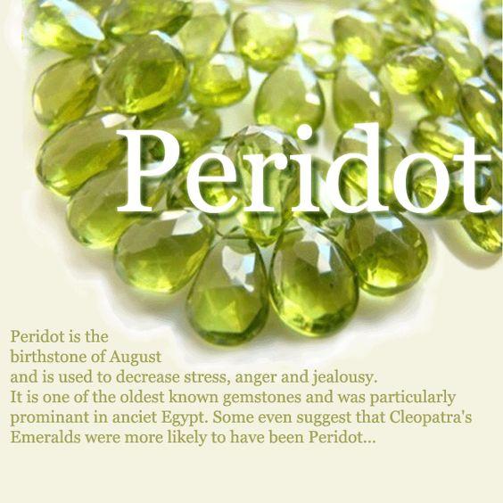 Peridot meaning