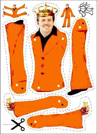 """Van harte welkom: Koning Willem Alexander. Our Queen Beatrix will soon passing on her crown to her son. Queensday will be Kingday......or we must wait and see but """"our orangeparty"""" will always be the most awesome festivity worldwide. Where people be together as one!:"""