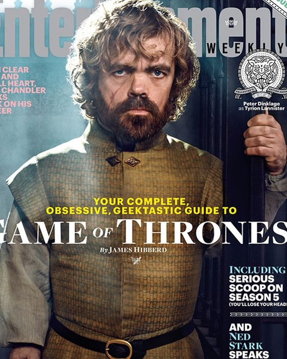 GAME OF THRONES Season 5 - Entertainment Weekly Character Covers