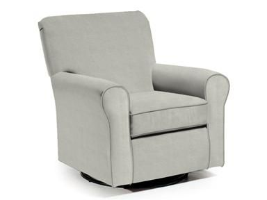 Best Chairs Storytime Series Hagen Swivel Glider 4177