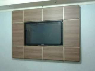 Paineis de madeira para tv led e lcd: Photos, Tv Led, Home Sweet Home, Wood, Para Tv, Wood