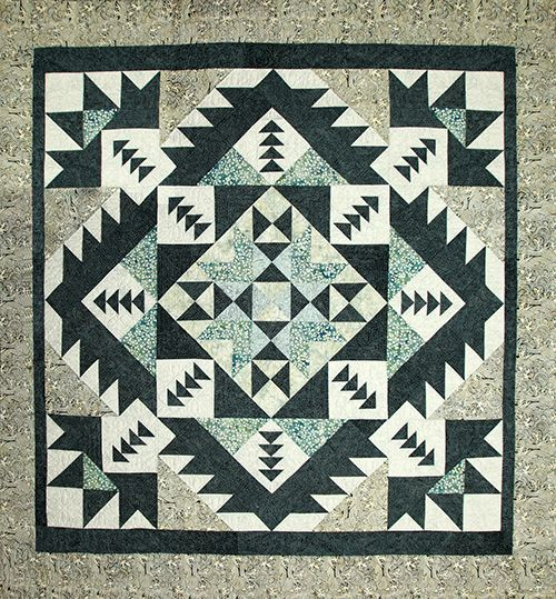 Migration Quilt by Debby Maddy. Going to make this one.