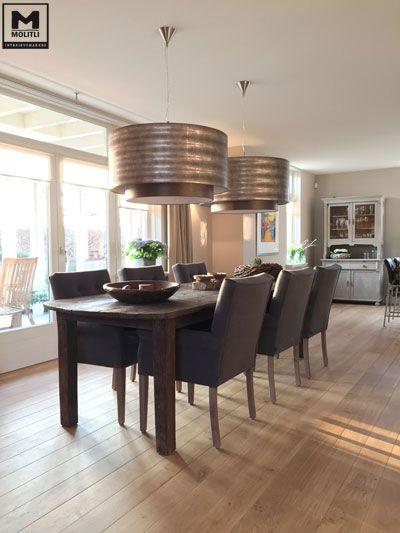 Restyling woonhuis, bestaande houten vloer behandeld, nieuwe ...