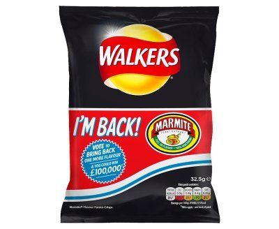 Walkers Crisps - Limited Edition Marmite Flavour -32.5g x 24: Amazon.co.uk: Grocery