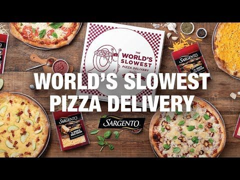 16 The World S Slowest Pizza Delivery Youtube Bento Recipes Pizza Delivery Food