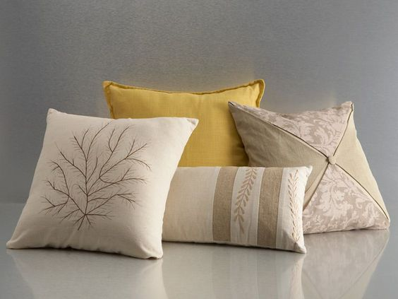 Rent the French Linen pillow pack for a sophisticated topping to your bedding.