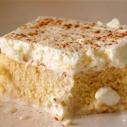 Recette péruvienne du pastel de tres leches (gâteau aux trois laits)