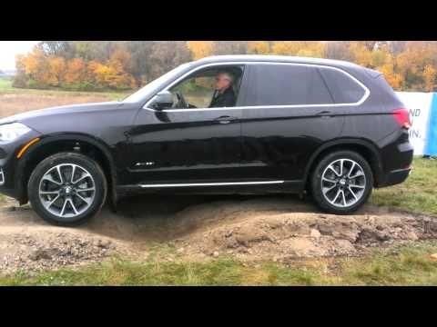 BMW X5 test drive novembre 2013 - YouTube