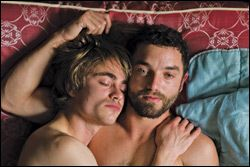 "On the heels of ""Weekend"" and ""Keep the Lights On,"" the arthouse normalization of the gay romance continues apace in ""Beyond the Walls,"" a carefully crafted, gen…"