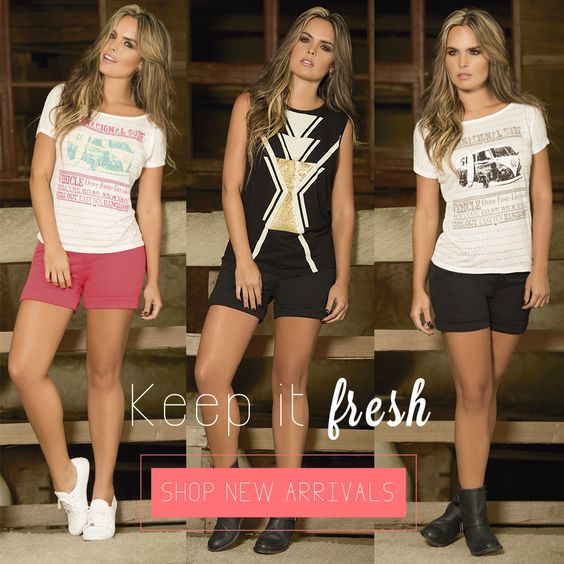 Keep it FRESH!!! Elige el look prefecto para hoy!!
