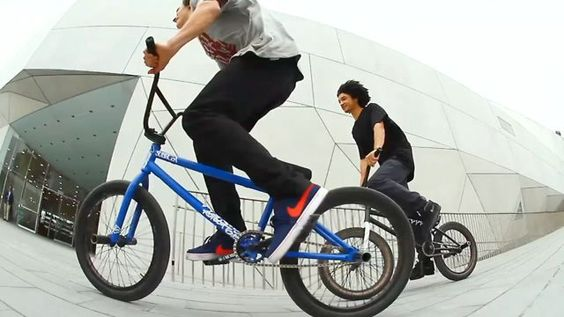 Nike - AK and Simone by Nike BMX. Two of the most progressive and stylish street riders in the game, Alex Kennedy (UK) and Simone Barraco (Italy), spent twelve days on the streets in and around Tel Aviv, Israel with the ever-creative filmmaker Richard Forne behind the lens. All that's left for you to do is press play….