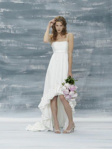 Non white casual wedding dresses is very beautiful and charming ...