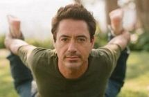 Robert Downey Jr + Yoga = Awesome