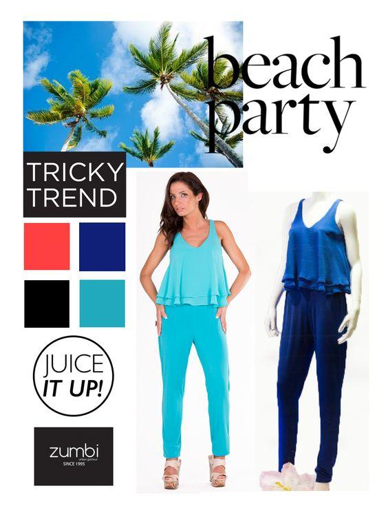 GET THE LOOK...  Macacão ZUMBI _ 50% de DESCONTO na loja online www.zumbi.pt Macacão (Ref: MCV1413) disponível em coral, azulão, preto, turquesa | COMPRAR AQUI: https://tinyurl.com/q82a4k4