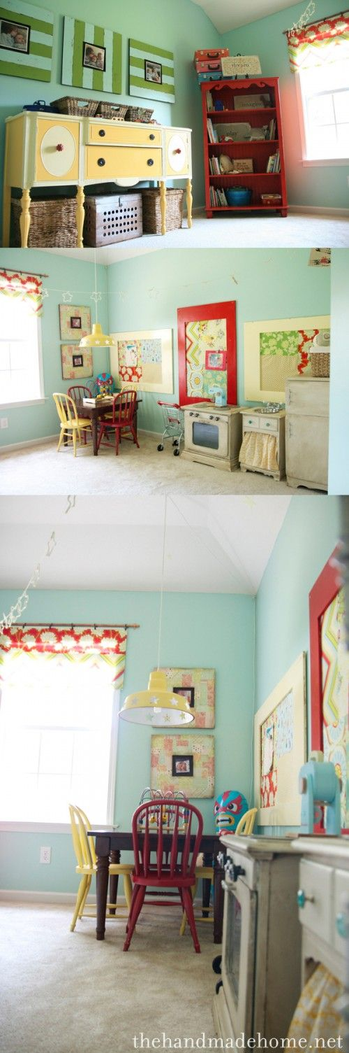 Playrooms Playroom Ideas And Colors On Pinterest