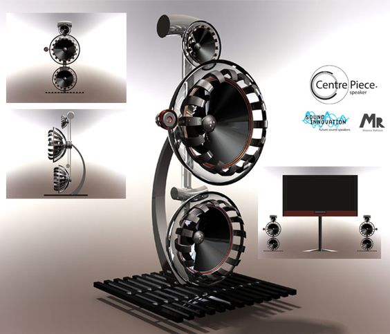 Centre piece speaker concept by Mizanur Rahman, from the UK