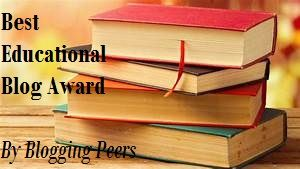 Best Educational Blog Award nominated by Blogging Peers!  Rules: Nominate 1-5 of your favorite Educational blogs. Ask 5 questions. Repost image and rules.  Nominees: Thank those who nominated you. Answer your 5 questions. Nominate up to 5 Educational blogs and write why. Ask your own 5 questions. Repost image and rules.  Have fun and spread the love!!!  #blog #education