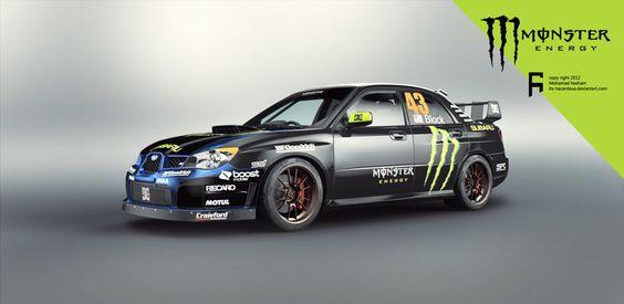 Subaru Impreza WRX STI 05 Monster Energy In SF! #43 | Motorsports |  Pinterest | Subaru Impreza, Subaru And Cars Great Pictures