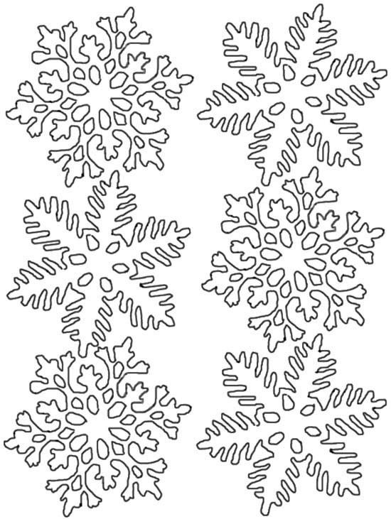 snowflake coloring pages free google search madilynns bday