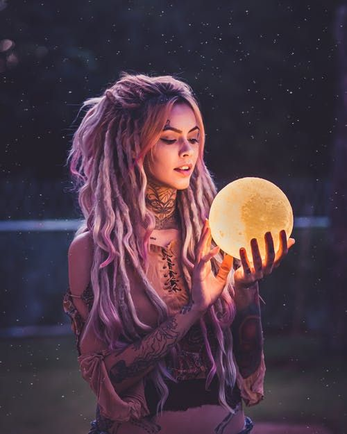 Custom Photo 3d Print Moon Lamp Night Light Photography Watermark Beauty Portrait
