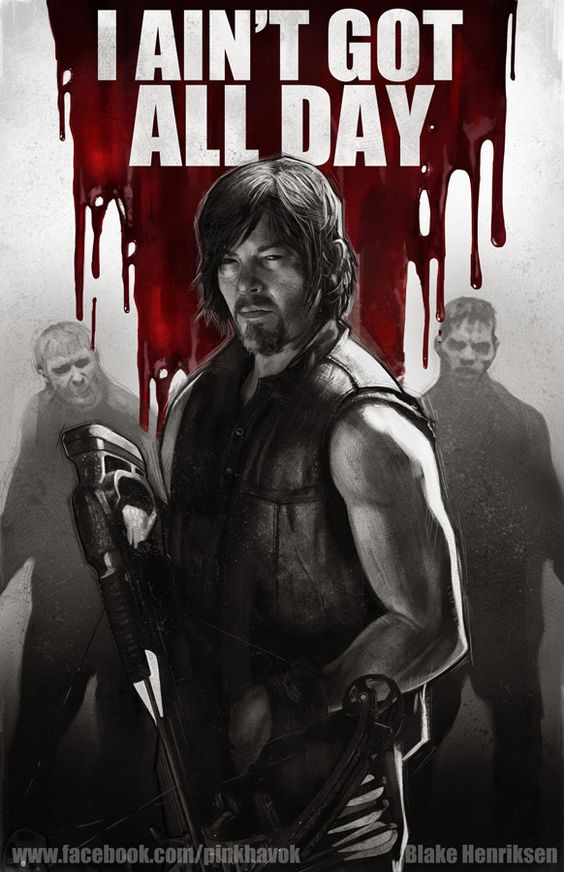 Daryl Dixon - The Walking Dead - Blake Henriksen
