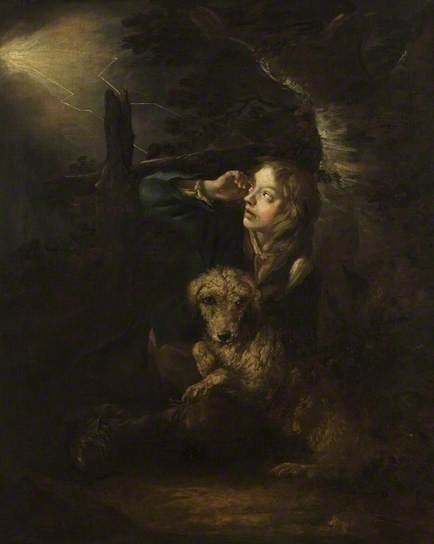 Sheltering from the Storm, by Thomas Barker ~ late 18th / early 19th century