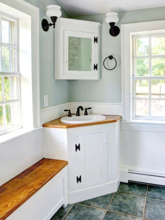 Small Rustic Bathroom Ideas Home Bathroom Designs Inspiring Small Sink For Small Bathroo Corner Bathroom Vanity Corner Sink Bathroom Small Rustic Bathrooms