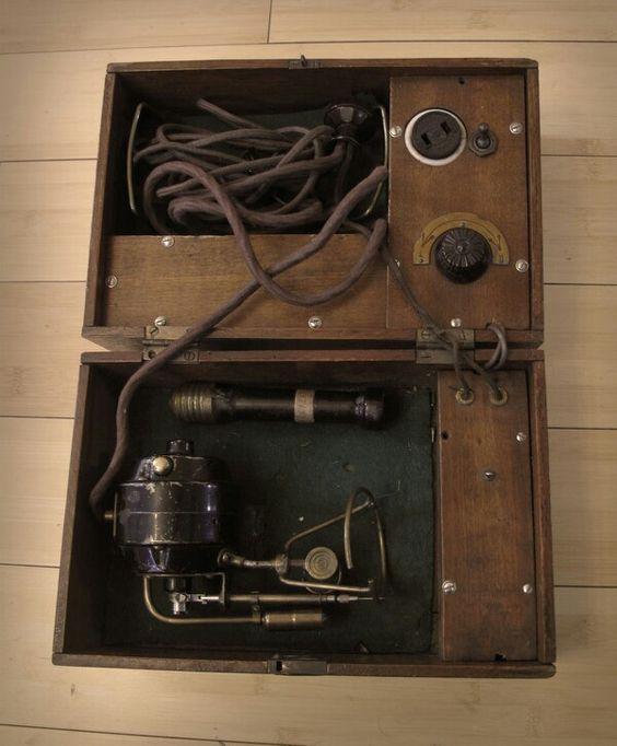 Antique tattoo machine power supply equipment