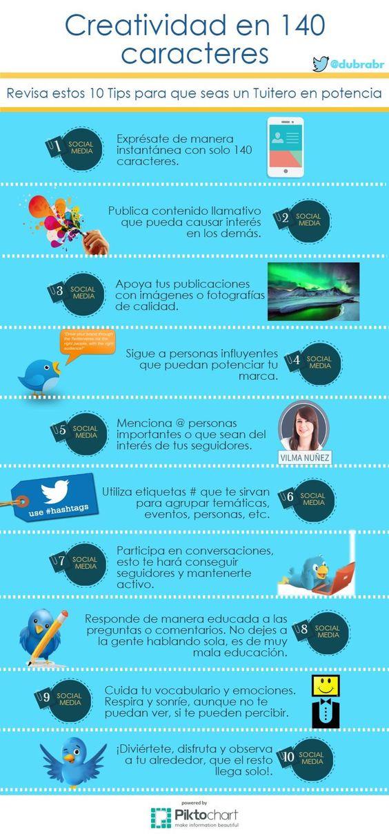 #Twitter | Creatividad en 140 caracteres |