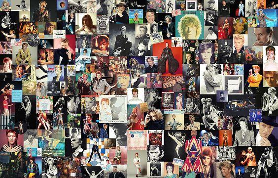 David Bowie Collage Digital Art by Taylan Soyturk