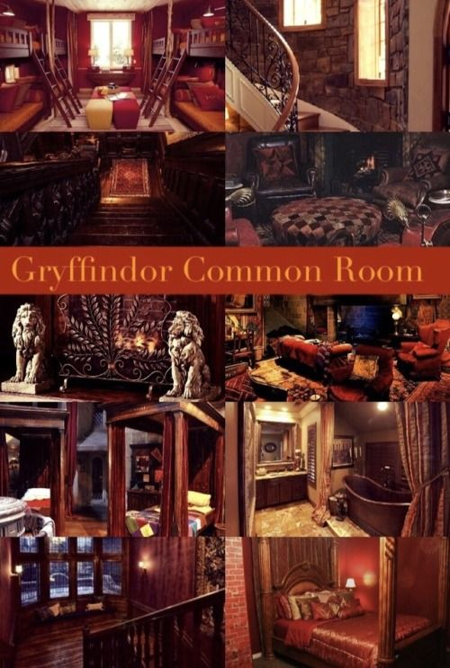 Aesthetics And Playlists Hogwarts House Common Rooms Hogwarts Houses Gryffindor Hogwarts Slytherin's common room is nearly deserted. pinterest