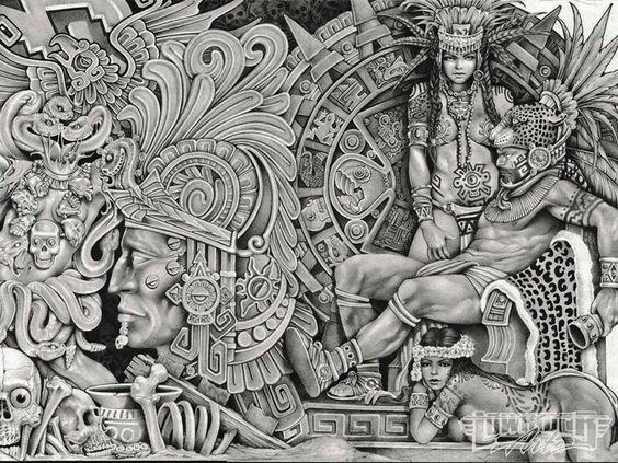 Pinterest the world s catalog of ideas for Aztec tattoo shop phoenix az