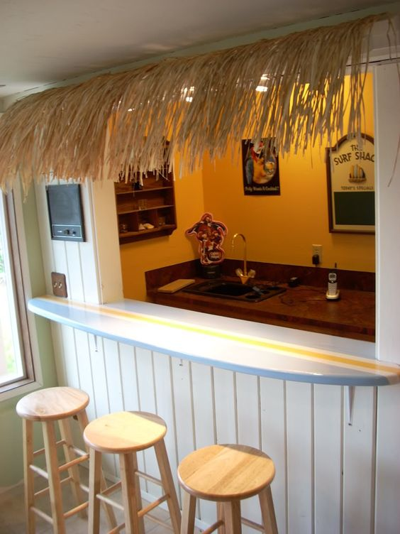 Pinterest the world s catalog of ideas for Surfboard bar top