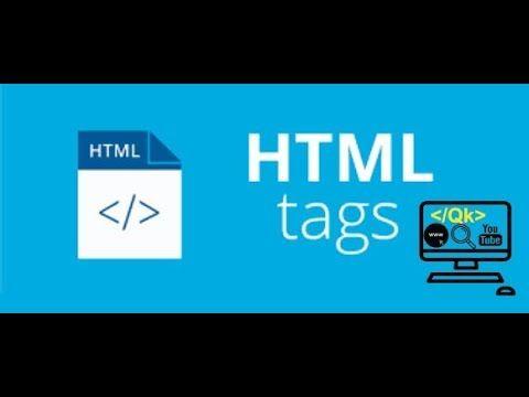 Lesson 1 Html Basics In Hindi Urdu 2018 Lesson Basic Web Design