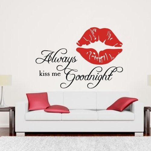 Colorfulhall 35 4 x 15 7 15 7 x 22 always kiss me for Mural lettering