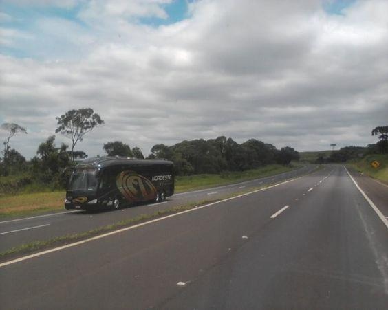 bussi Etelä-Brasiliassa