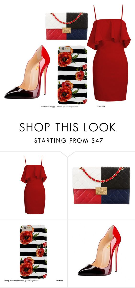 """""""red"""" by dumy-stela ❤ liked on Polyvore featuring Chanel"""