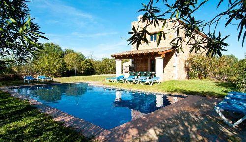 Finca Son Mas | Pool und Garten