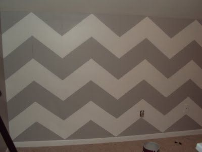 Chevron Walls Chevron And How To Paint On Pinterest