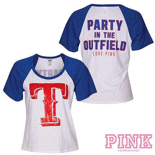 Texas Rangers Victoria 39 S Secret Pink Party In The
