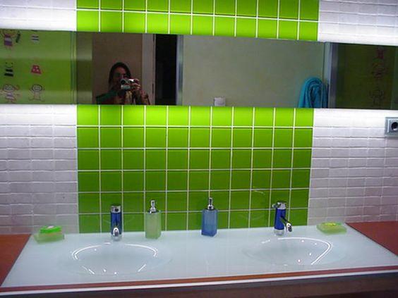 Salle de bains enfants ambiente creado por patricia - Salle de bains enfants ...