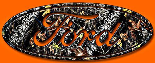 Camo Ford Emblem I